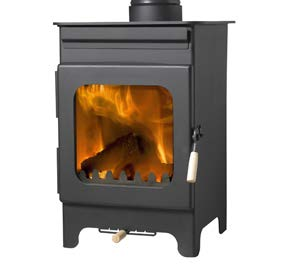 The Burley Fireball Hollywell 9105 Wood Burning Stove