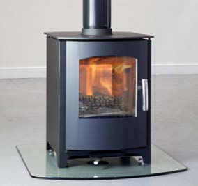 Mendip Churchill Double sided MultiFuel Stove