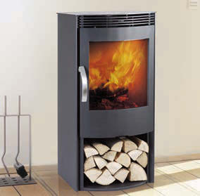 Termatech TT40 With LogStore Wood Burning Stove