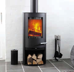 Termatech TT20 With LogStore Wood Burning Stove