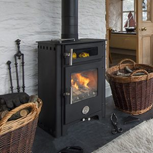 Chilli Penguin Fat  MultiFuel Stove