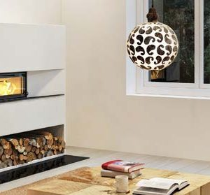 Nordpeis X-25F Wood Burning Fires
