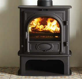 Stockton 5 Midline Wood Burning Stoves & Multi-fuel Stoves