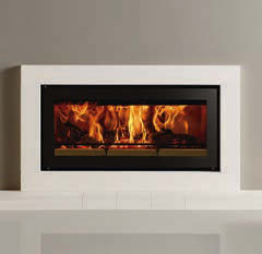 Stovax Studio 2 Duplex Double sided Wood Burning Stove