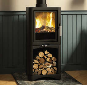 Broseley Evo 5 Log Store Wood Burning Stove
