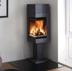 Nordpeis Quadro 1T Wood Burning Stoves