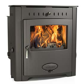 Stratford Ecoboiler 16 HE inset MultiFuel Stove