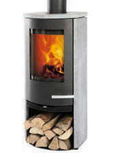 Termatech TT20S With LogStore Wood Burning Stove
