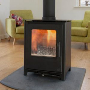 Mendip Loxton Double sided MultiFuel Stove