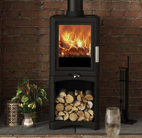 Broseley Evo 5 Delux Log Store Wood Burning Stove