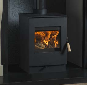 Burley Firecube Launde 9304 Wood Burning Stove
