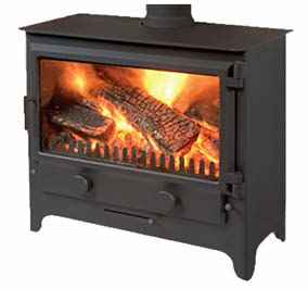 Merlin Widescreen MultiFuel Stove