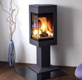 Nordpeis Quadro 1 Wood Burning Stoves